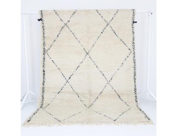 Beni Ourain Teppich 193x289 cm
